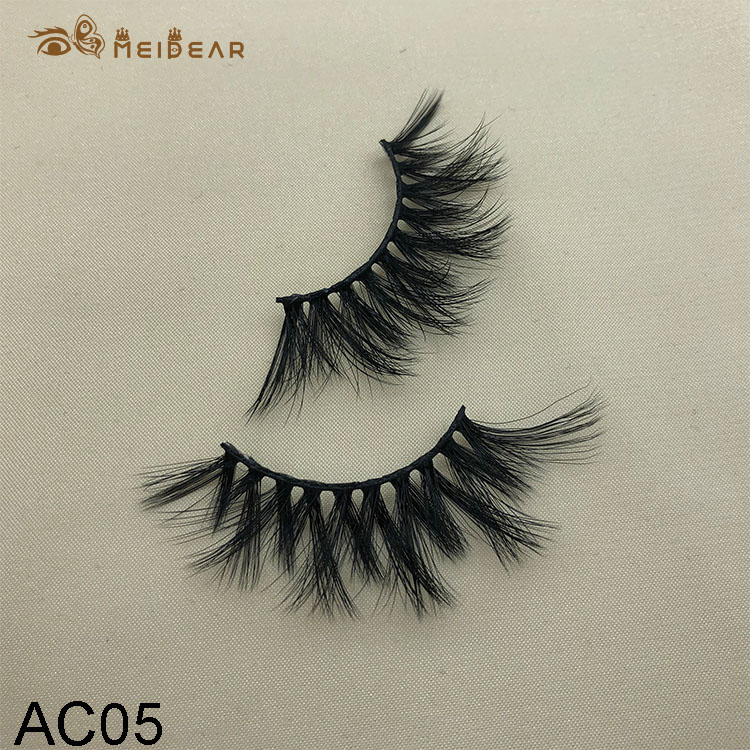 Synthetic faux mink eyelashes AC05  $1.0 per pair