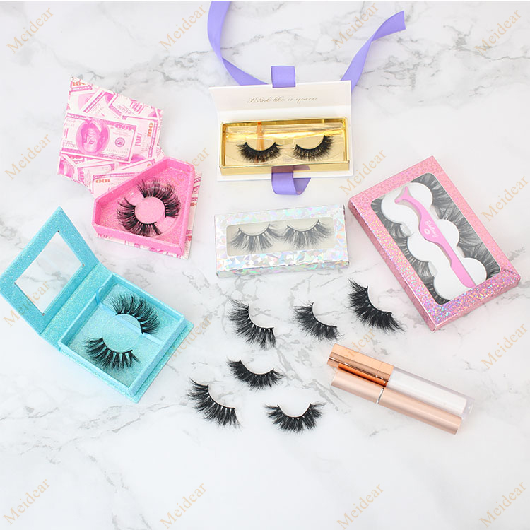 eyelash custom package with private label 10