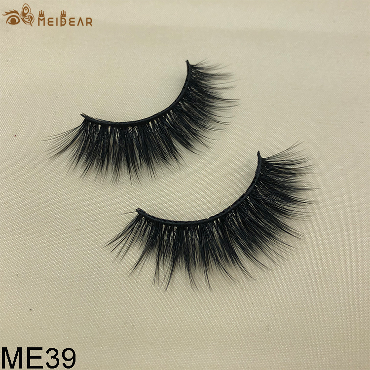Synthetic faux mink eyelashes ME39