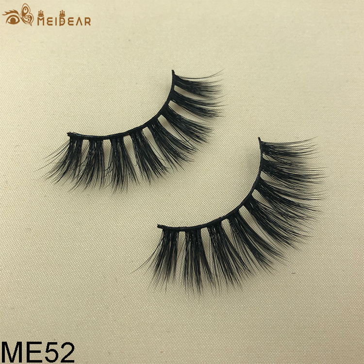 Synthetic faux mink eyelashes ME52