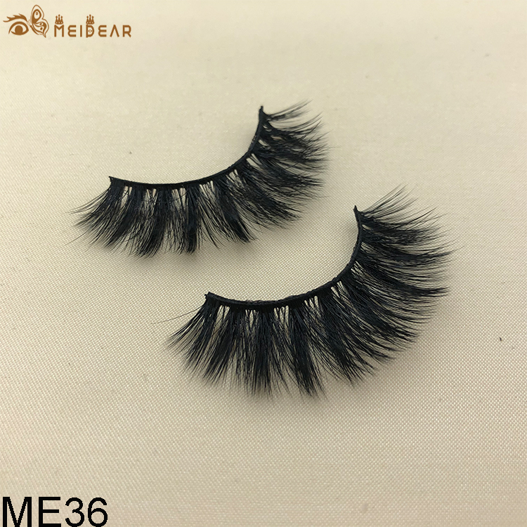 Synthetic faux mink eyelashes ME36