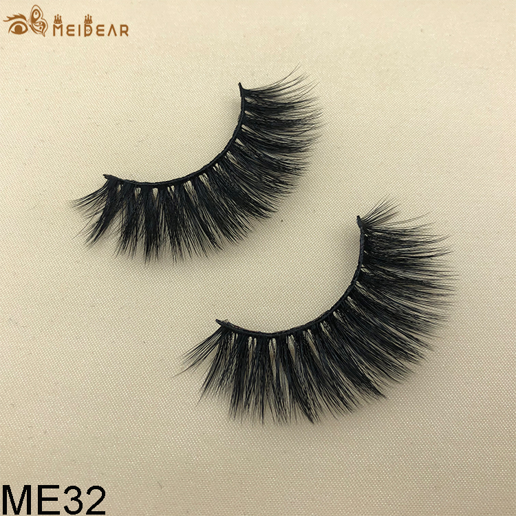 Synthetic faux mink eyelashes ME32