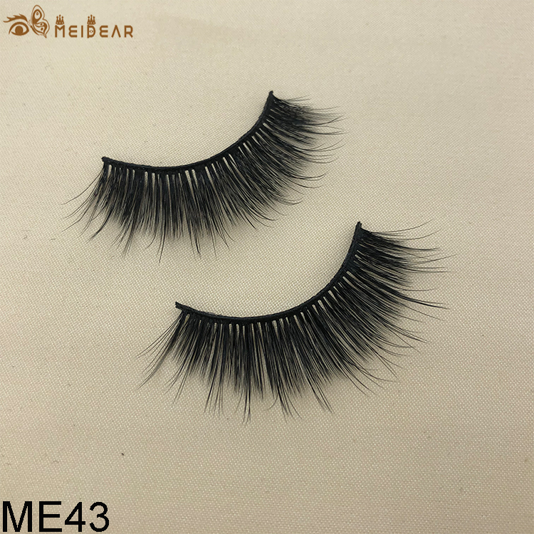 Synthetic faux mink eyelashes ME43