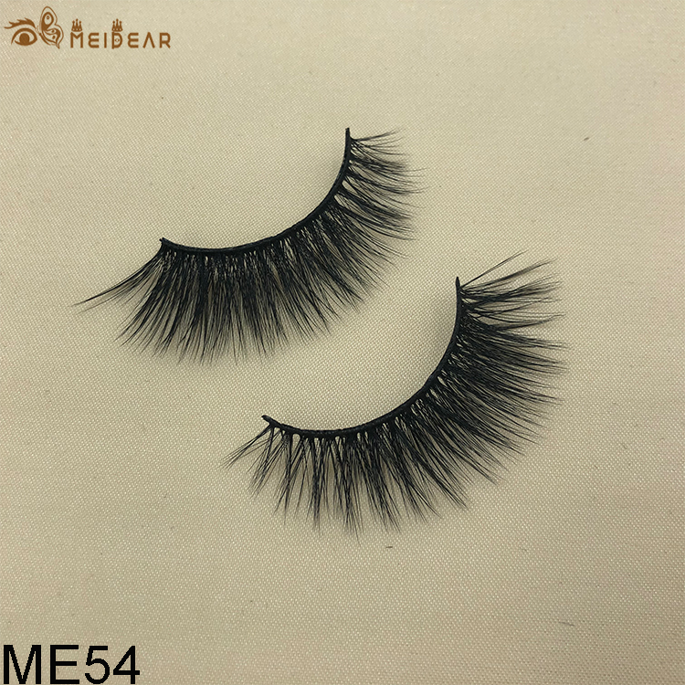 Synthetic faux mink eyelashes ME54