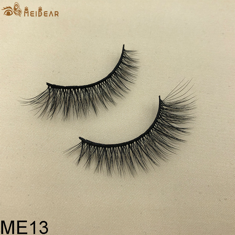 Synthetic faux mink eyelashes ME13