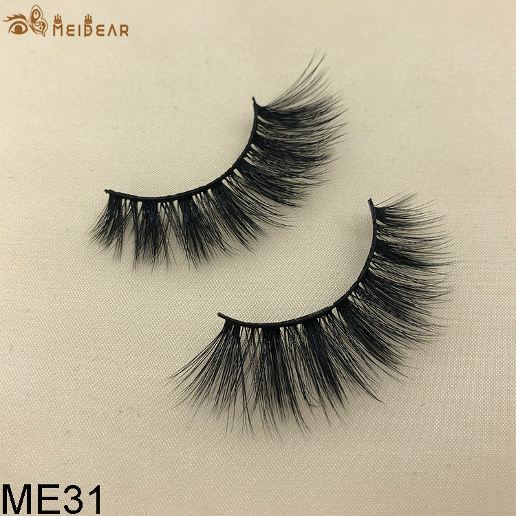 Synthetic faux mink eyelashes ME31