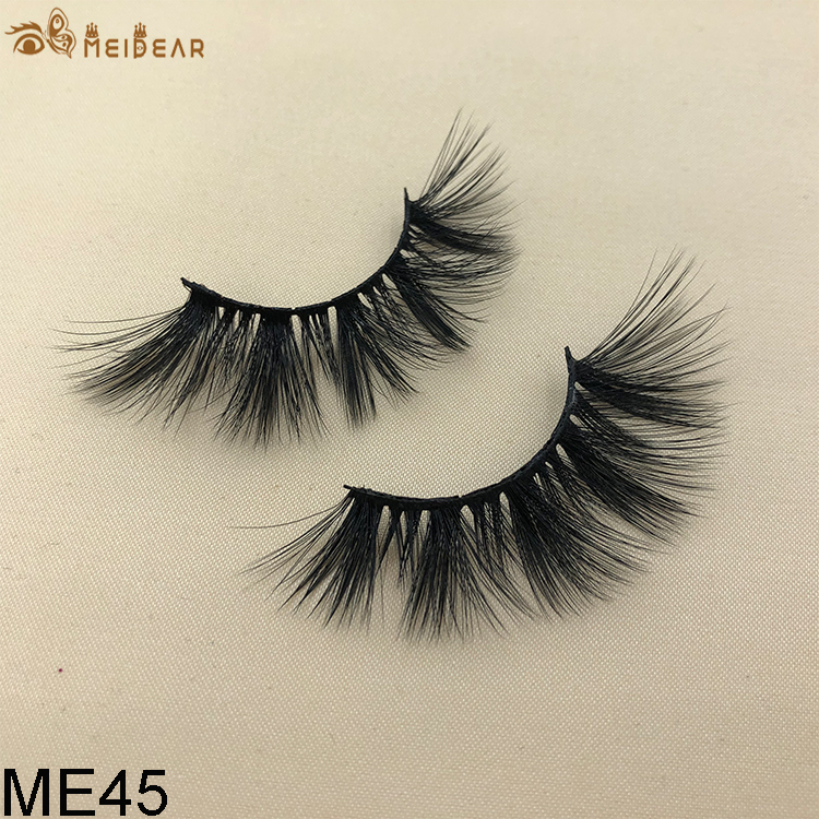 Synthetic faux mink eyelashes ME45