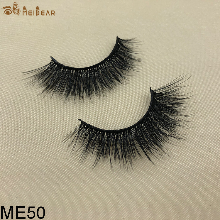 Synthetic faux mink eyelashes ME50