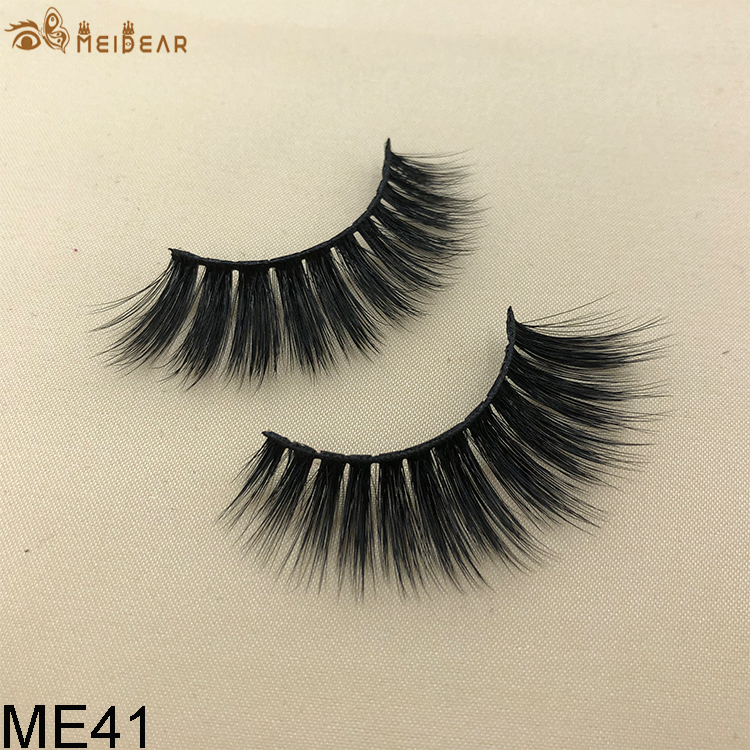 Synthetic faux mink eyelashes ME41