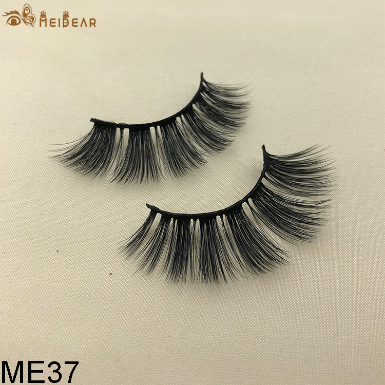 Synthetic faux mink eyelashes ME37
