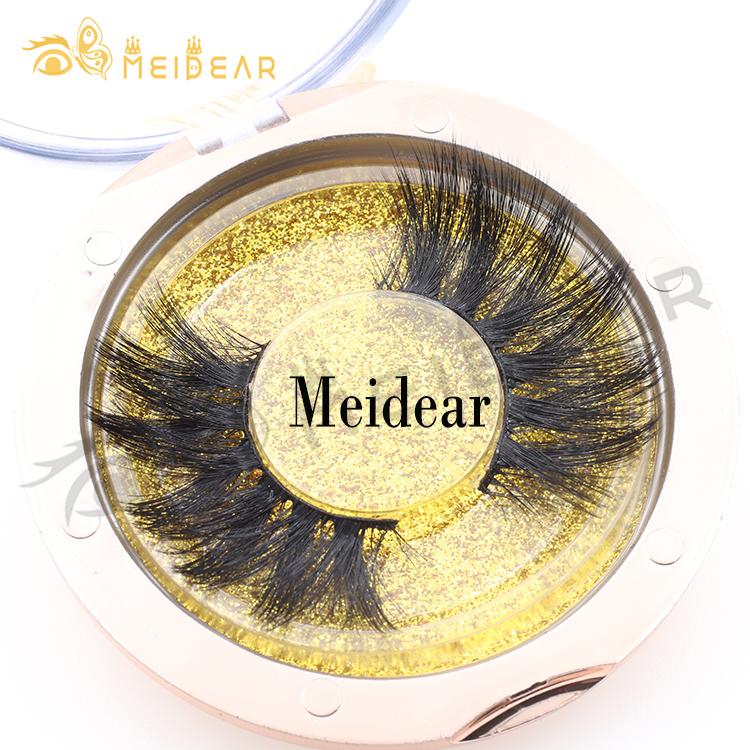 25mm 27mm 3d 4d siberian mink eyelashes with lashes packaging uk CL