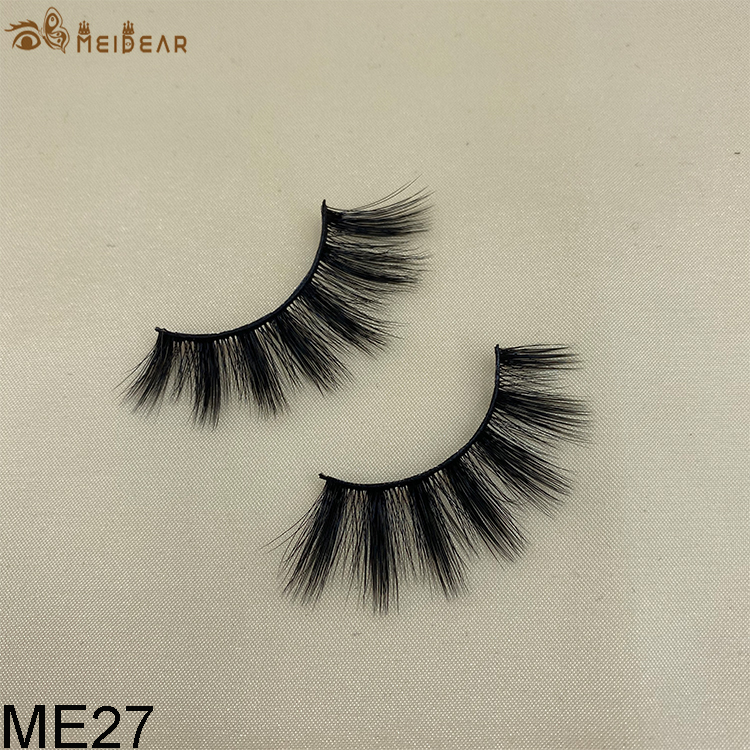 Synthetic faux mink eyelashes ME27