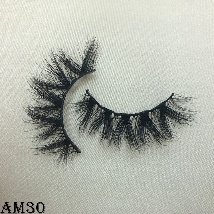 3D mink eyelashes AM30