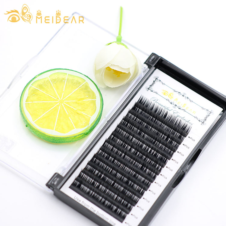Faux mink eyelash factory offer top quality eyelash individuals with mixed length