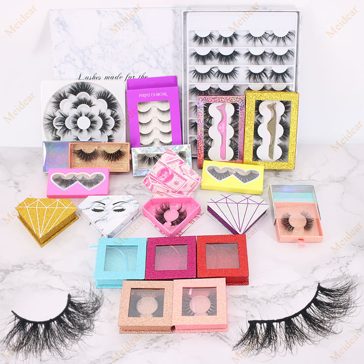 eyelash custom package with private label 4