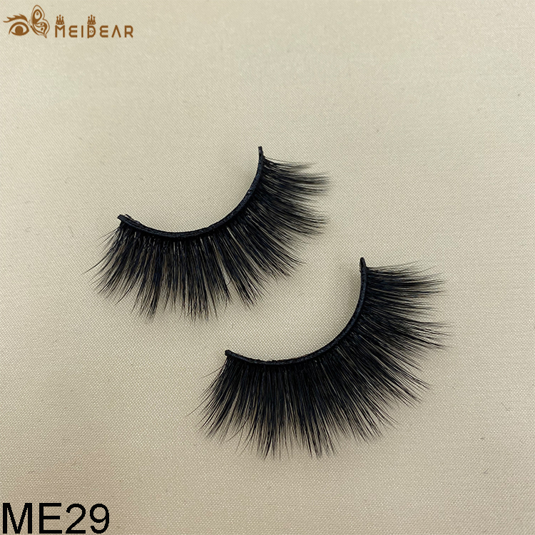Synthetic faux mink eyelashes ME29