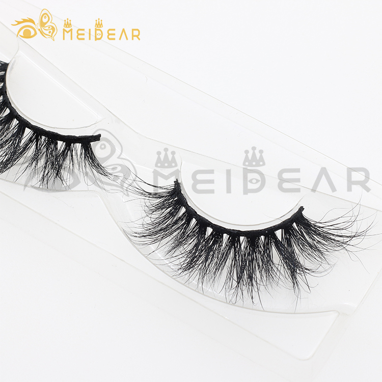 Lash vendor Custom 25mm 3D mink lashes 5D 30mm eyelashes with own brand