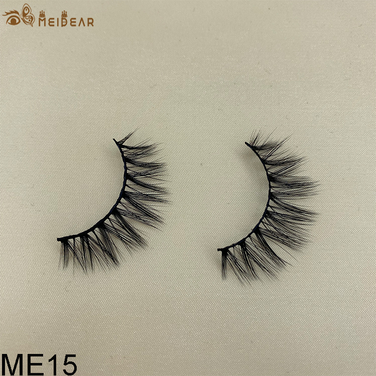 Synthetic faux mink eyelashes ME15