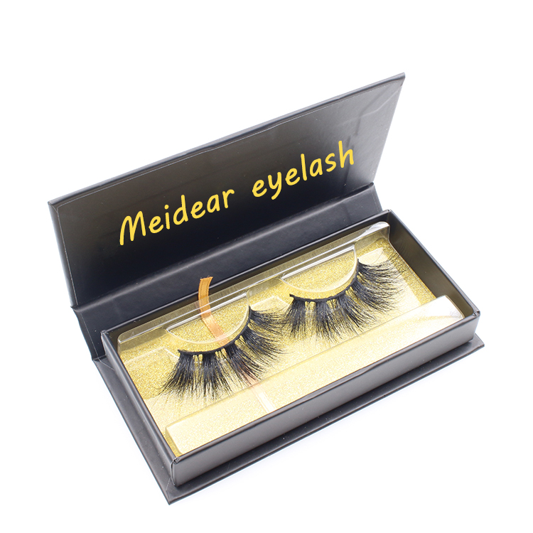Manufacturer provide cruelty free 3d 4d 5d mink eyelashes with customized eyelash box to CA-SX