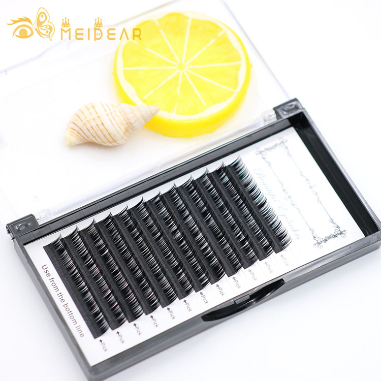 Highest quality eyelash individual extensions with wholesale price from false eyelashes manufacturer
