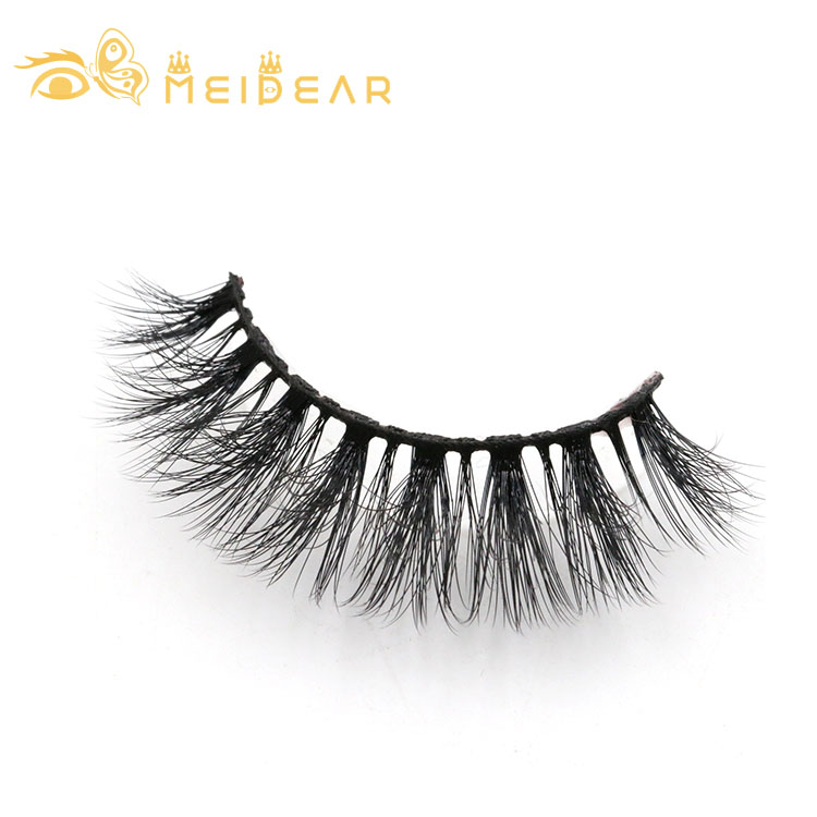 Custom business brand for strip false lashes with private label packaging
