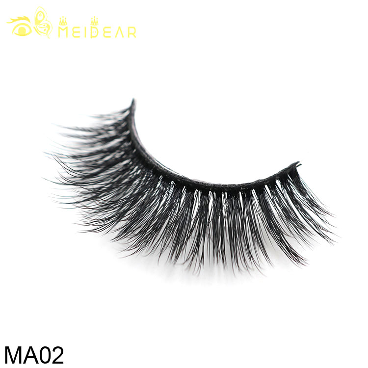 Distributor wholesale glamorous 3d faux mink lashes with private label