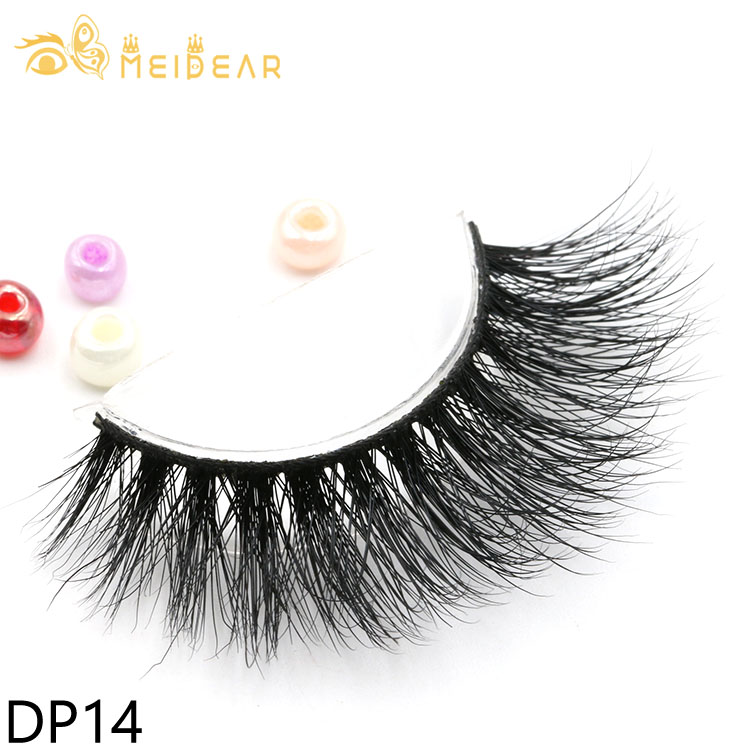 Distributor wholesale high quality 3d mink eyelashes with own brand packages