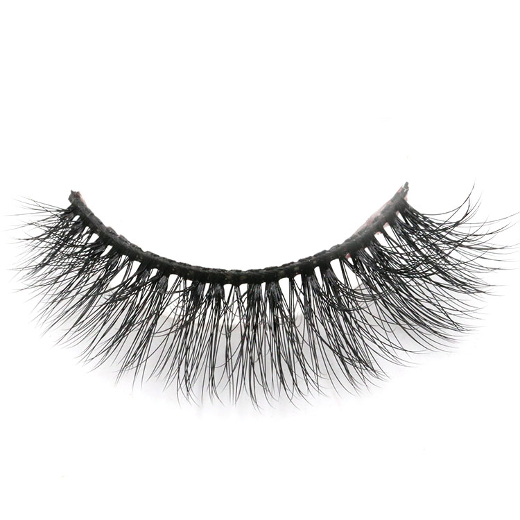 Distributor wholesale natural soft 3d faux mink eyelashes with private label