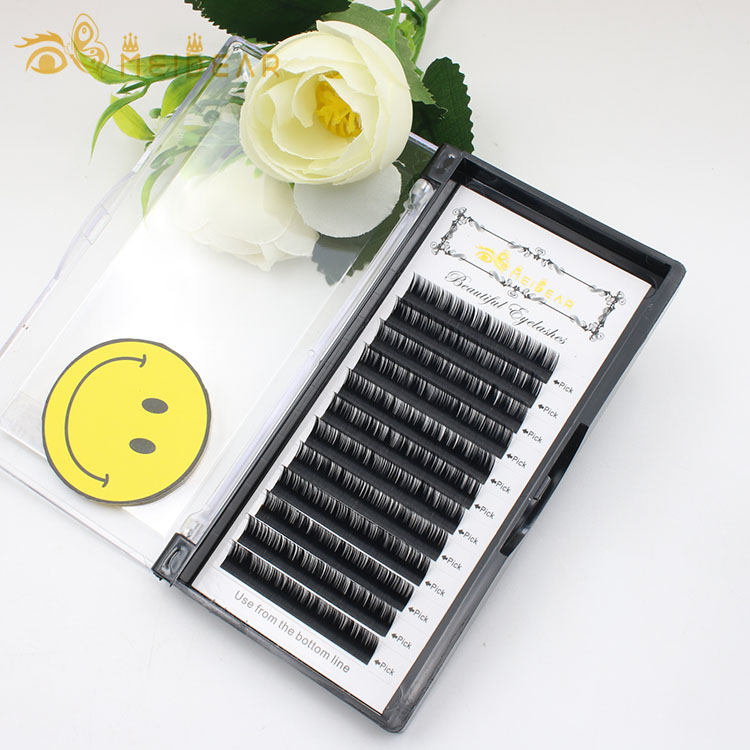 Eyelash extension factory provide private label eyelash extensions tweezers tools with custom box