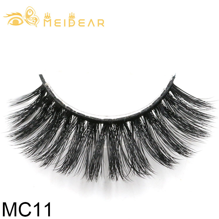 Eyelash packaging for private label best quality 3d silk lashes