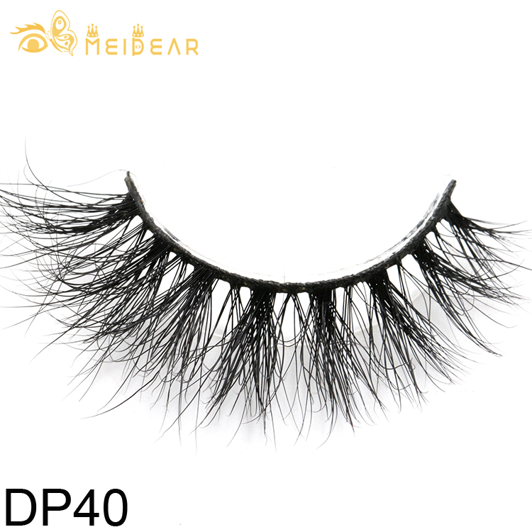 ae7e20d688e Eyelash suppliers provide fluffy and shiny real Siberian 3D mink lashes  with OEM ODM service
