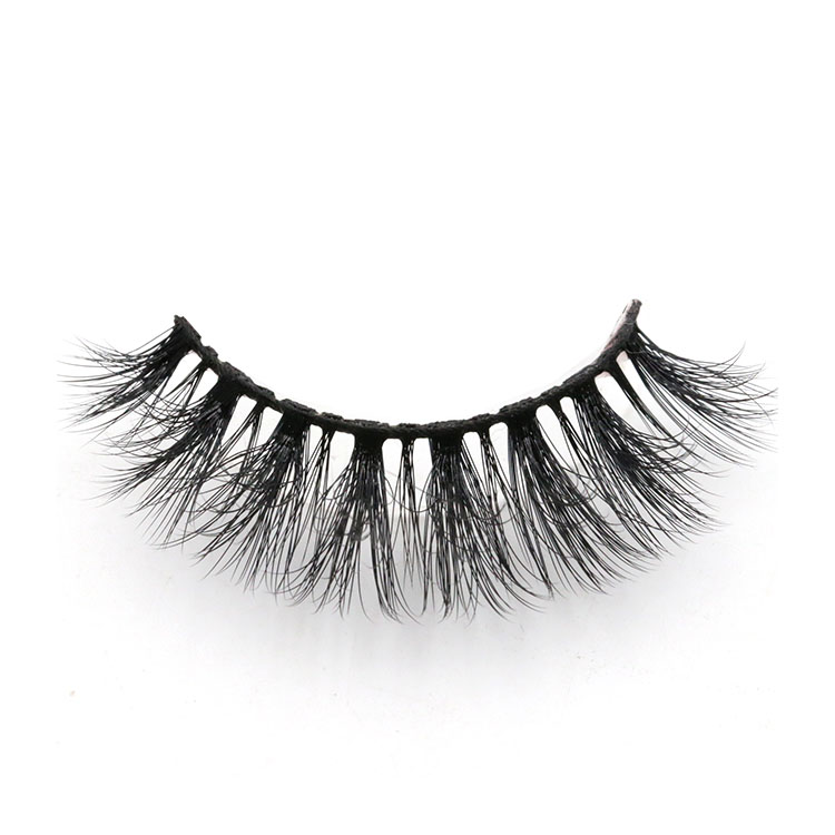 Eyelash vendor supply strip 3d faux mink eye lashes with custom brand packages