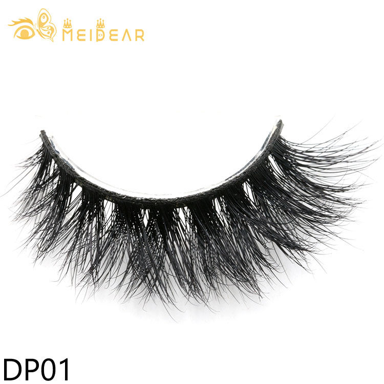 Eyelashes vendor wholesale highest quality 3d mink lashes with customized boxes
