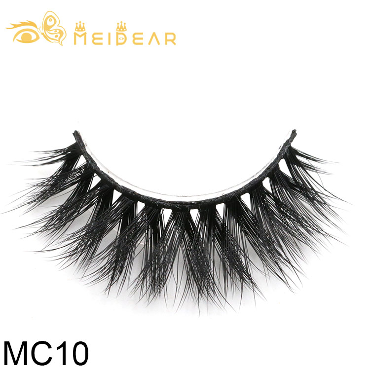 Factory provide handmade 3d silk eyelashes with own brand packages to USA