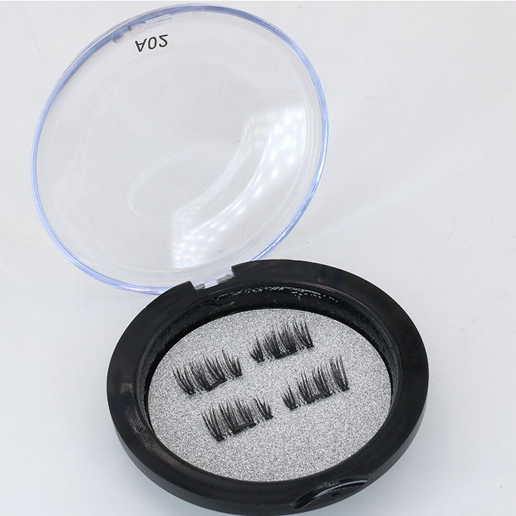 Lash manufacturers supply private label packaging for high quality magnetic eyelashes