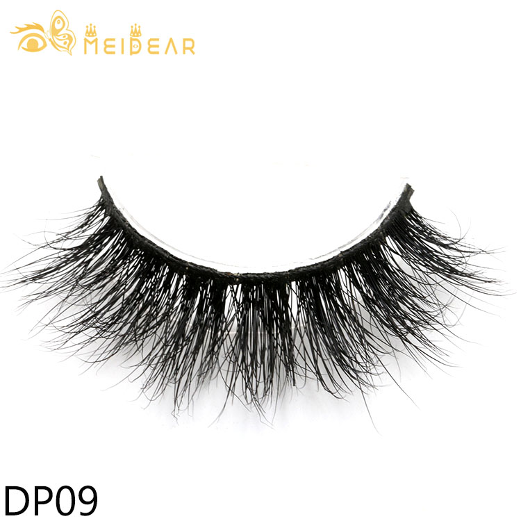 Manufacturer provide custom brand strip lashes for cruelty-free 3D mink lashes