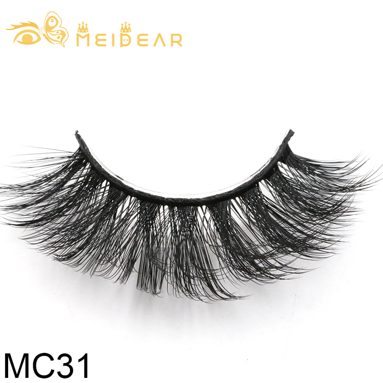 Manufacturer provide lightweight strip 3d silk lashes with private label packaging