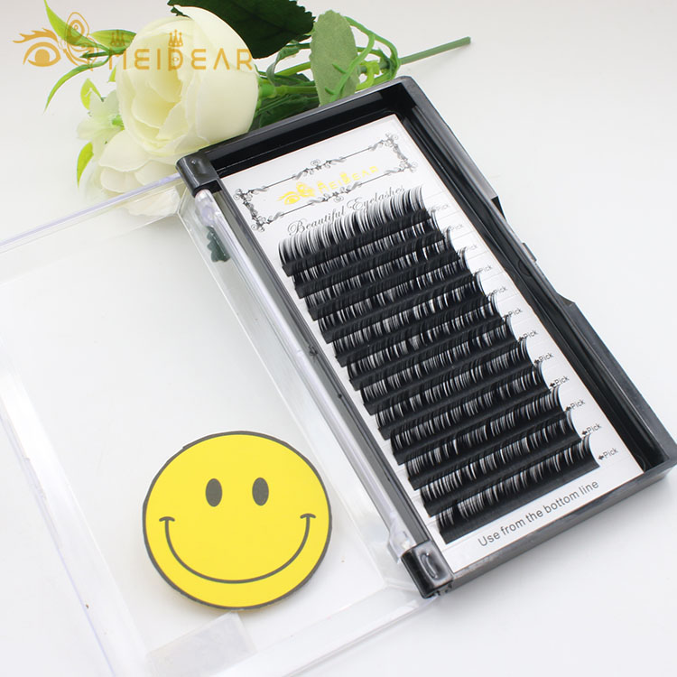 Own eyelash brand manufacturer supply individual eyelash extension to UK