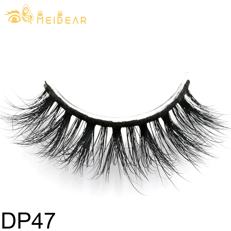Mink false eyelashes supplier provide soft and natural 3D mink lashes with customized boxes
