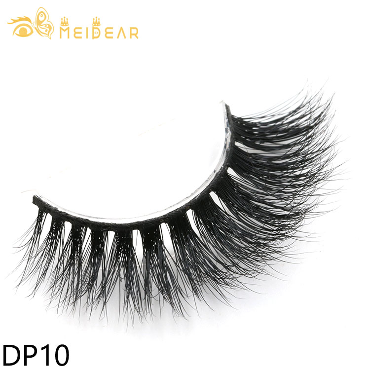 Wholesale cruelty-free Siberian 3D mink eyelashes with custom packages