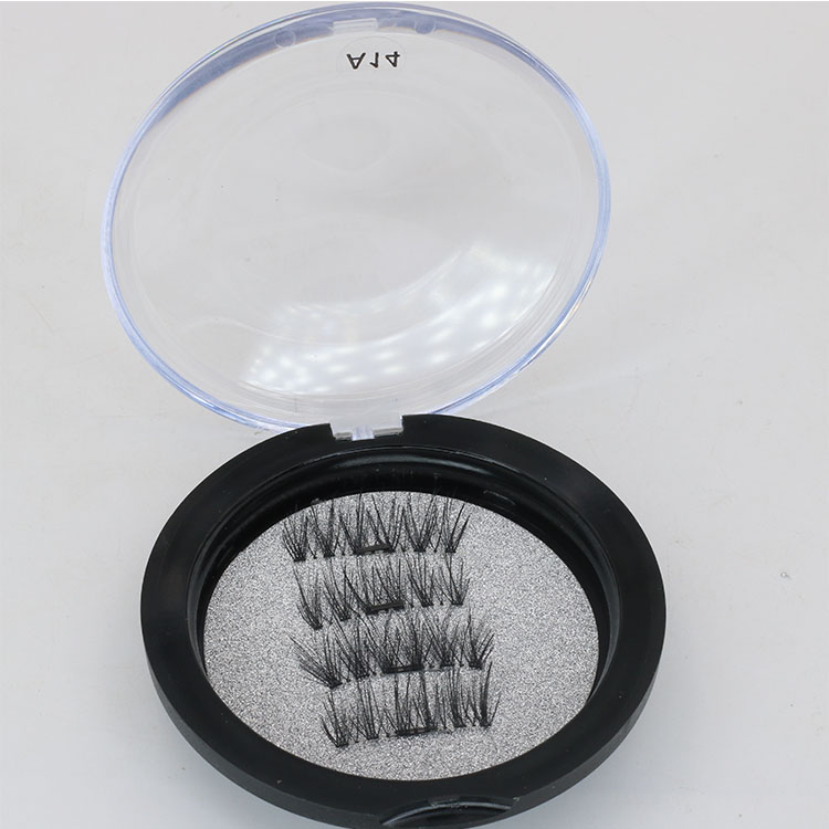 Wholesale false eyelashes supplies provide lightweight magnetic eye lashes