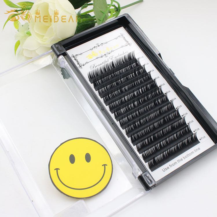 Wholesale mink lash extensions vendors provide lightweight and natural thickness 0.07mm eyelash extension