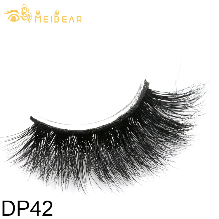 Mink lashes packaging manufacturer provide highest quality 3D mink eyelash with own brand
