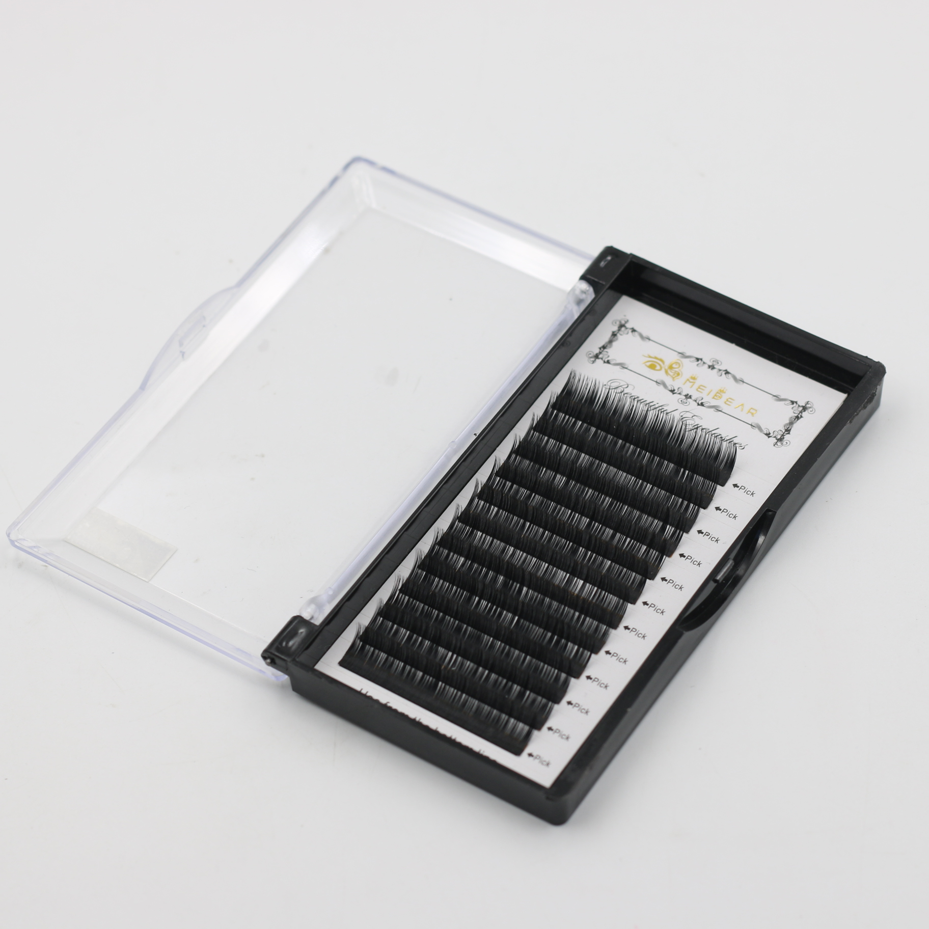 China soft eyelash extension supplies provide handmade individual eyelash extensions