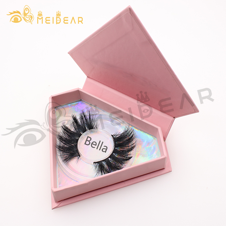 Lash vendors supply dramatic 25mm 27mm 30mm 3D 5D mink lashes with cheap price