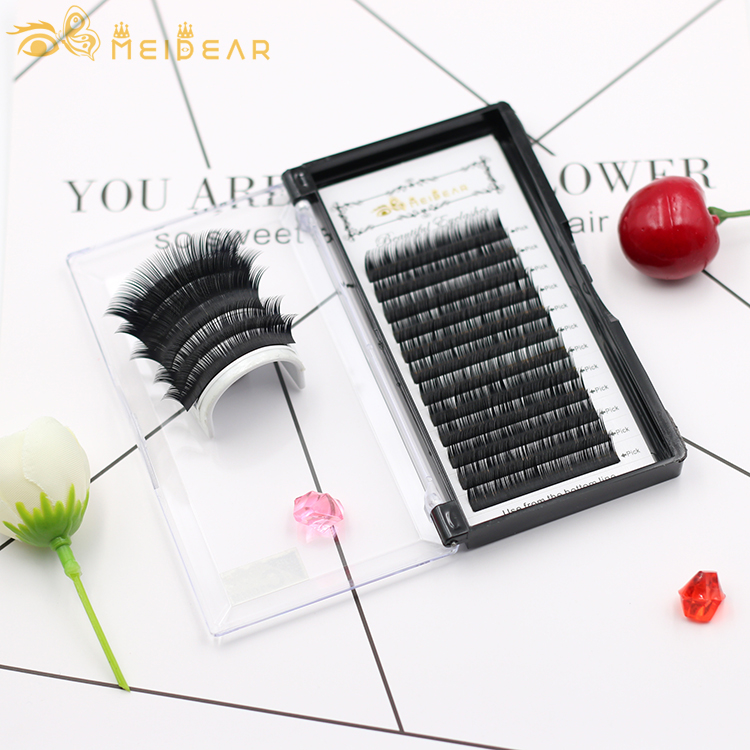 Silk xtension lashes supplies vendor price list China factory to uk