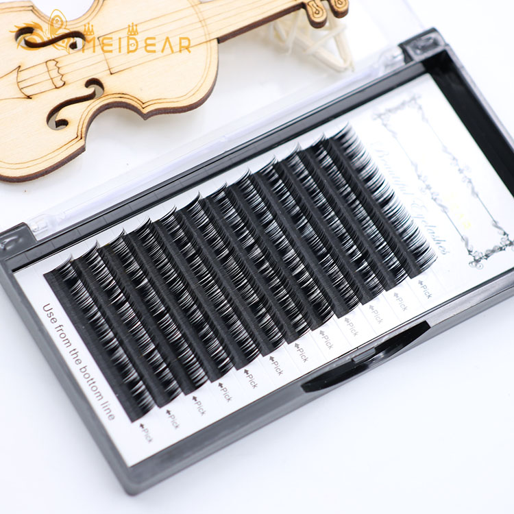 Eye lash extensions manufacturer supply lightweight individual eyelashes with wholesale price
