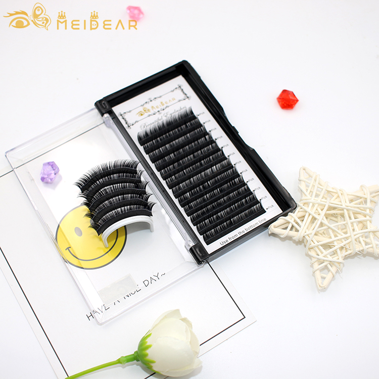 Silk eyelash extension manufacturer best price wholesale to eyelash extensions salons