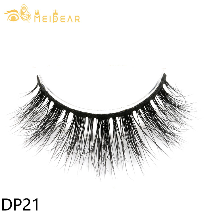 Eyelash manufacturer supply premium glossy Siberian 3D mink lashes with private label box