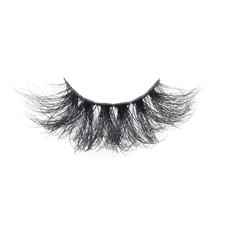 False eyelashes vendor wholesale dramatic 25mm lashes with cheap price own brand